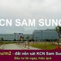 đất Nền Vị Trí đắc địa đẹp Nhất Kcn Sam Sung Bắc Ninh, đầu Tư Hiệu Quả