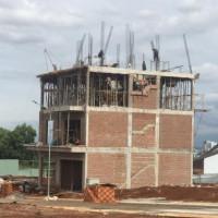 Nhà Phố Pleiku Gia Lai đang Xây 4 Tầng Mặt Tiền 6m & 7m Nguyễn Văn Cừ Giá Chỉ 33tr/m2 - 40tr/m2