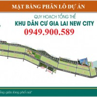 Gia Lai New City Khu Đô Thị Bậc Nhất Chỉ 239triệu/130m2